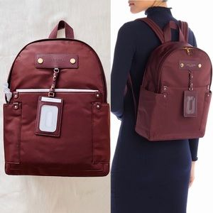 ✨New MARC JACOBS Preppy Nylon Backpack Dark Wine